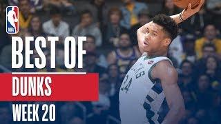 NBA's Best Dunks | Week 20