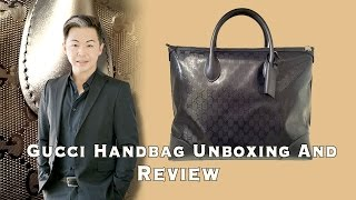 Gucci Handbag Unboxing And Review