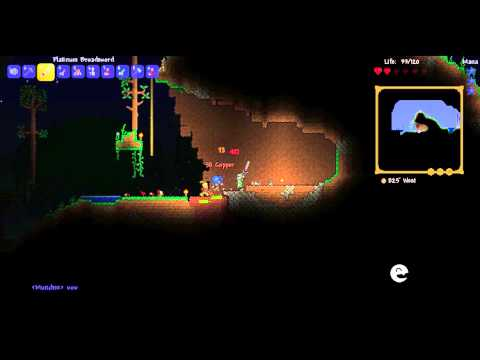 Banter Plays Terraria #1 How To Get Rich