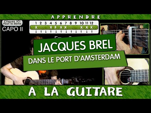 Le port d 39 amsterdam brel guitare musica movil - Jacques brel dans le port d amsterdam lyrics ...