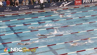 Katie Ledecky, Simone Manuel meet in TYR Pro Swim Series 200m freestyle | NBC Sports