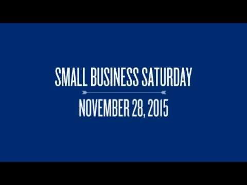 Small Business Saturday 2015 360p