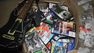 GameStop Dumpster Dive! Huge Haul Of Xbox One and PS4 Game Cases + More!!