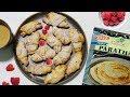 Frozen Flaky Paratha Almond Crescent Rolls Festive Holiday Video Recipe | Bhavnas Kitchen