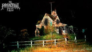 Is This Abandoned Murder House HAUNTED? We Spent The Night To Find Out. | THE PARANORMAL FILES