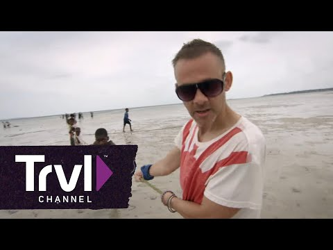 """Dominic Monaghan Takes Park in Mozambique's Annual Fishing Festival on All-New """"Wild Things"""""""