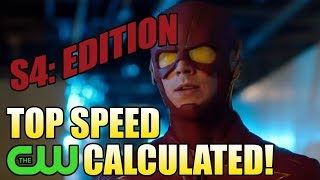 How Fast is the CW Flash? (Season 4 Edition)