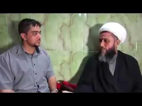 شاهد|| قول معمم شيعي أن الله خلق الخلق من أجل الحسين