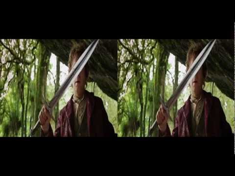 The Hobbit 3d Trailer in 3d