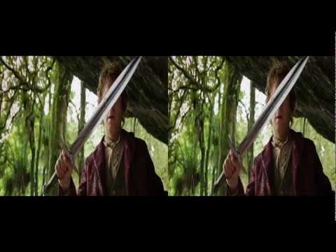 The Hobbit 3d Trailer in 3d