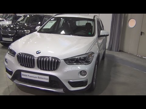 BMW X1 xDrive 20d Mineral White (2016) Exterior and Interior in 3D