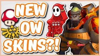 Overwatch - NINTENDO SKINS COMING INTO OVERWATCH?!