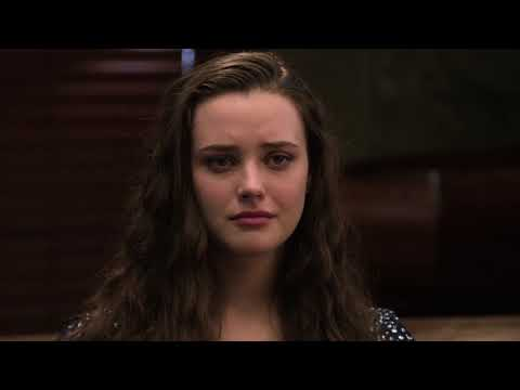 13 Reasons Why Hannah's Funeral | Clay Gives Speech