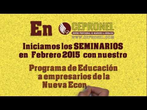 CEPRONEL ~ Seminarios inician en Febrero