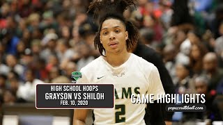 Grayson captures the 'Ship, defeats #2 Shiloh in front of a sold-out crowd!  The atmosphere was lit!
