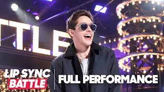 "Pete Davidson is Justin Bieber for ""One Time"" 