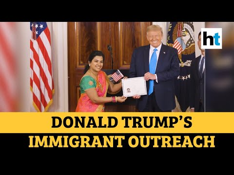 Indian techie Sudha becomes US citizen in ceremony hosted by Trump
