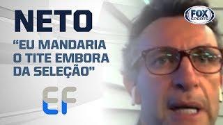 JESUS, SAMPAOLI, CORINTHIANS E MAIS!; Craque Neto é o convidado do 'Expediente Futebol'