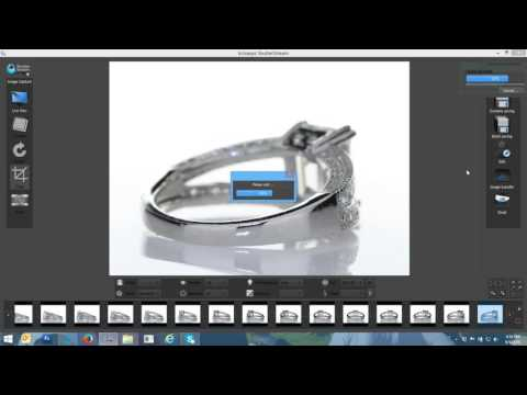 360 Jewelry Photography Workflow Video using Iconasys LED Studio + 360 Jewelry Turntable