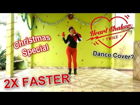 [2X FASTER] TWICE (트와이스) - Heart Shaker - Dance Cover? by Frost | Christmas Special