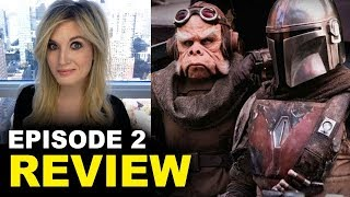 The Mandalorian Episode 2 REVIEW (Half SPOILERS)
