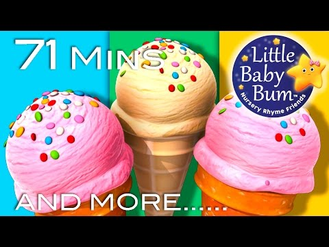 Ice Cream Song | Little Baby Bum | Nursery Rhymes for Babies | Video for Kids