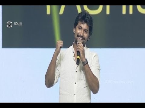 Nani Fun Filled Speech At DevaDas Audio Launch