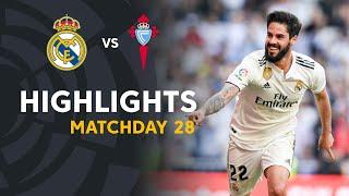 Highlights Real Madrid vs RC Celta (2-0)