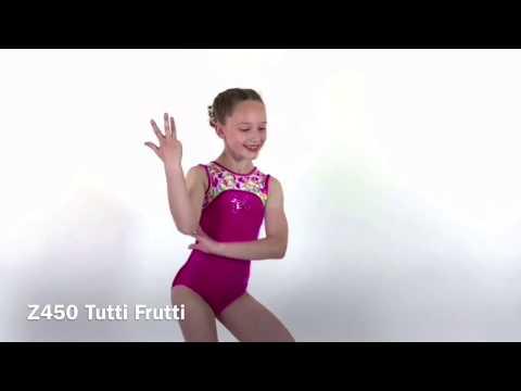 Justaucorps de gymnastique Tutti Frutti sans manches