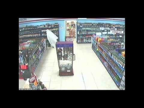 'Ghost' breaks into liquor store, steals nothing