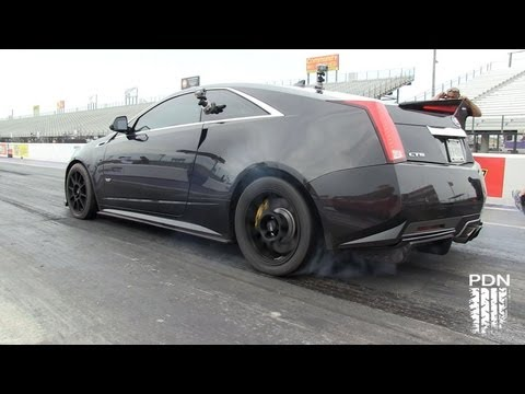9 second CTS-V - AWESOME SOUND!!!