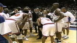 Bulls vs Knicks 1996 play-offs game #3
