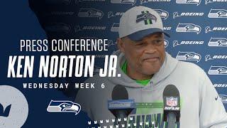 Ken Norton Jr. Seahawks Wednesday Press Conference - October 13