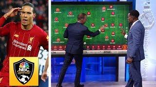 How Liverpool, Virgil van Dijk punished Man United   Premier League Tactics Session   NBC Sports