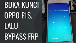 FLASHING OPPO F1S WITH UFI BOX - ident Dz