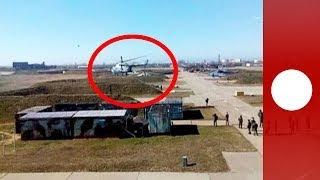 Украинские пилоты эвакуируют вертолеты и самолеты с авиабазы в Крыму