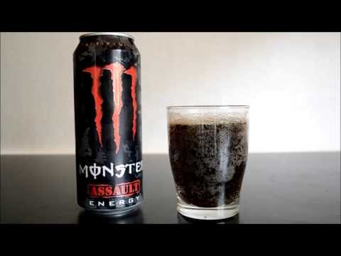 Monster Assault - Energy Drink Review