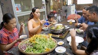 Gà nấu lẩu mắm cuối tuần | Miền Tây TV