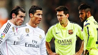 Lionel Messi & Neymar vs Ronaldo & Bale 2015 ● Skills & Goals Battle | HD