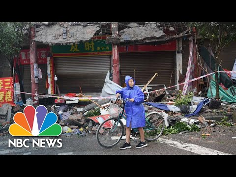 Deadly Earthquake Rattles China's Sichuan Province