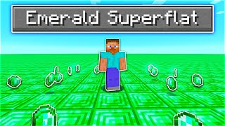 Can You Beat Minecraft Emerald Super Flat?