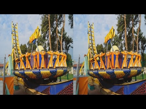Amusement Park 3D ! Children's Rides ! ( PART 3 )