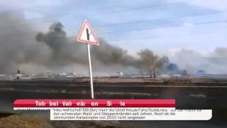 Tote und Verletzte bei Waldbränden in Sibirien