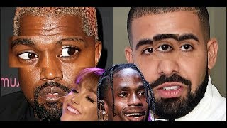Ariana Grande REACTS to Drake and Kanye West ISSUES and Kanye West SHADES Travis Scott