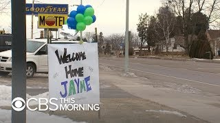 """Wisconsin town reflects on Jayme Closs' homecoming: """"Best news ever"""""""