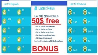New Site   Get Free $25 For Sig nup bonus   Earn $50 Per Day 100% genuine site   Ali Babu Official
