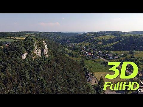 [3D] Szklarki Valley / Dolina Szklarki, Szklary, Jerzmanowice, Poland / Polska