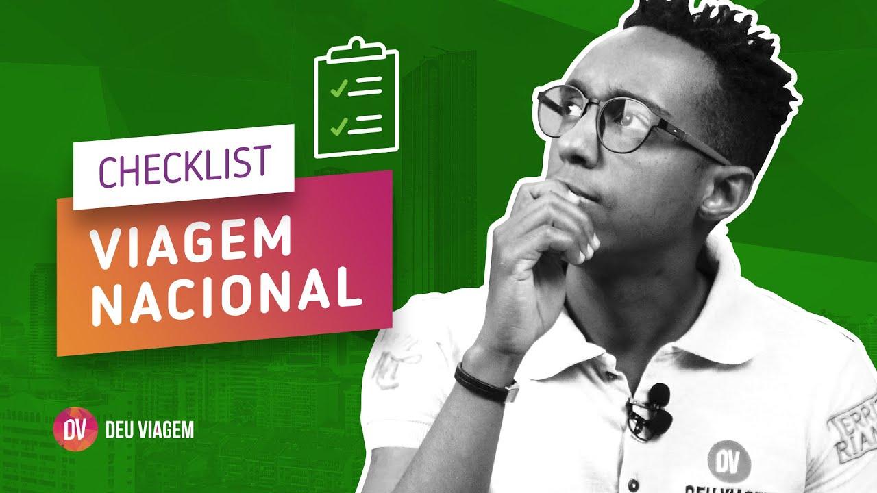 Check-List Viagem Nacional