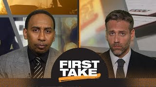 Stephen A., Max agree with Adam Silver's comments on Kevin Durant, Warriors | First Take | ESPN