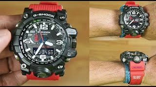 G-Shock MUDMASTER GWG-1000RD-4AJF Rescue Red Master of G